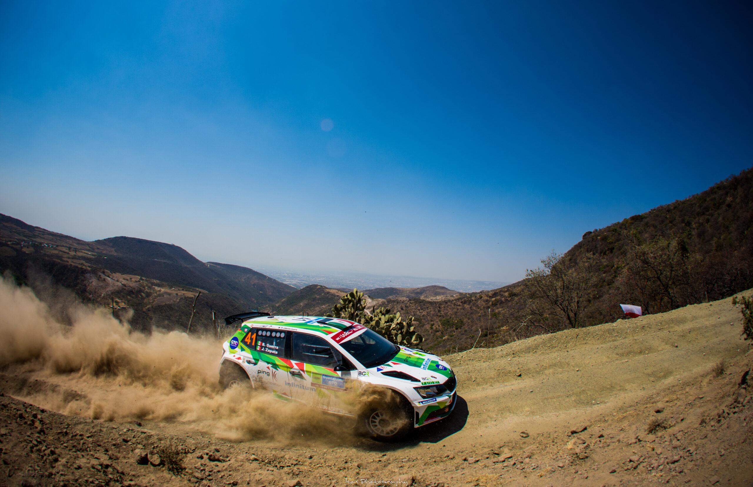 Benito Guerra participará en el Rally México