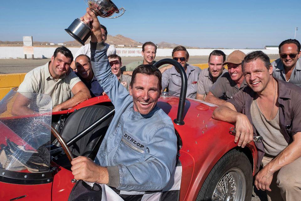 Ford vs Ferrari gana dos premios Oscar