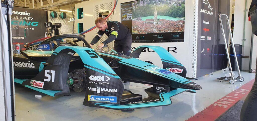Jaguar en la Fórmula E.