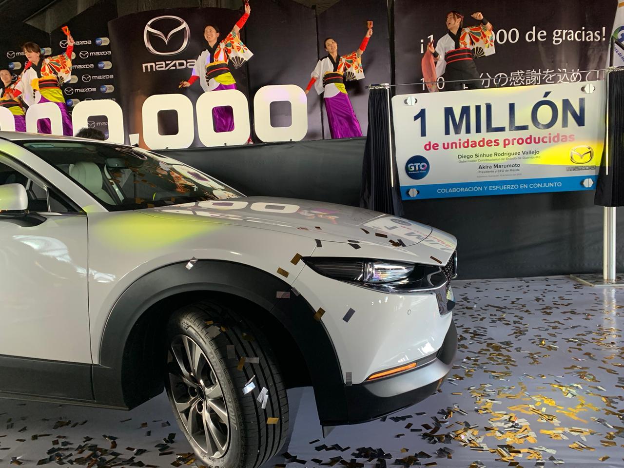 Mazda un millón de unidades producidas
