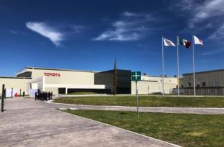 Apertura de la planta Toyota en Apaseo el Grande, Guanajuato.