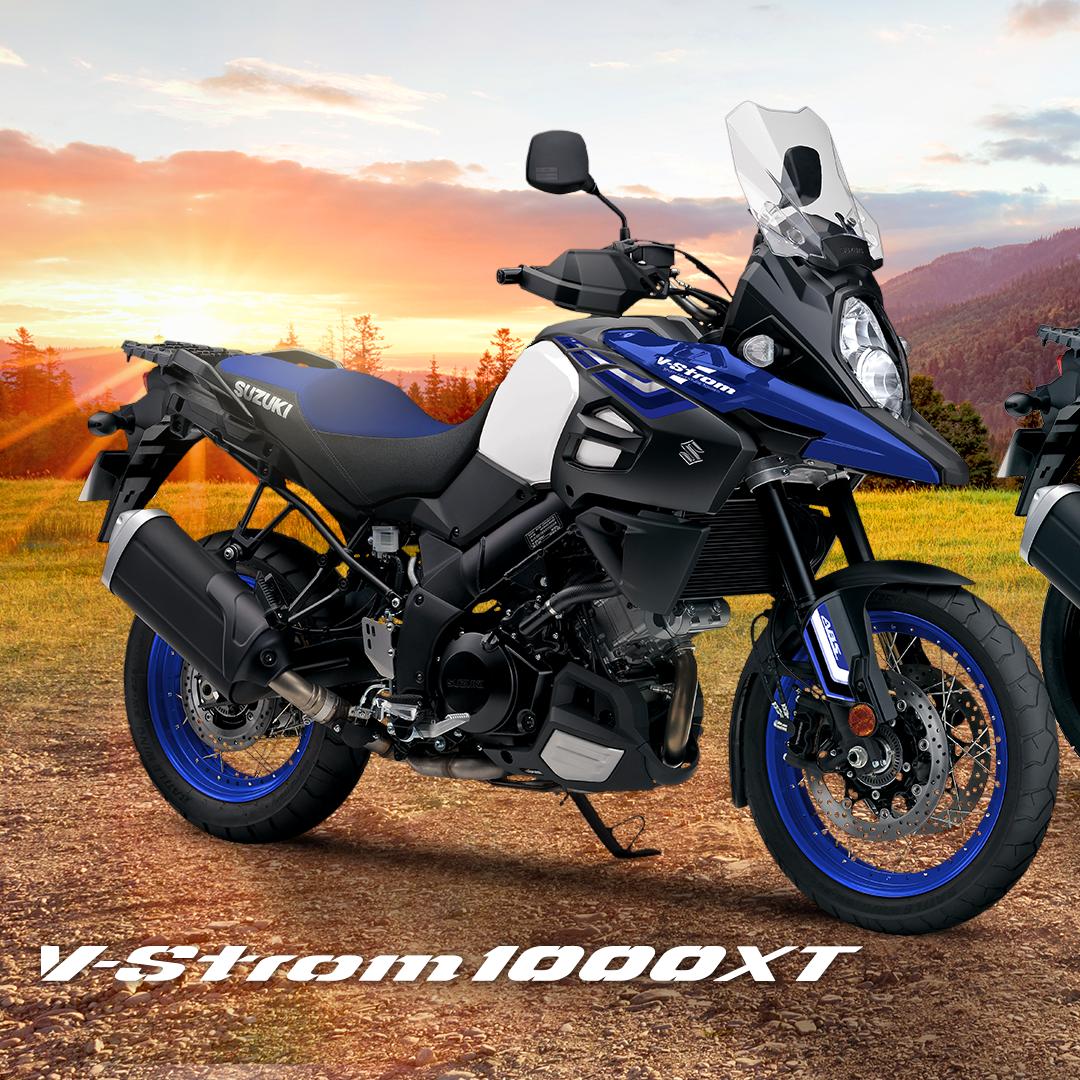 Para grandes aventuras sin importar el terreno, Suzuki V-Strom