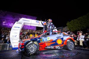 Hyundai, el equipo a batir en el Rally México