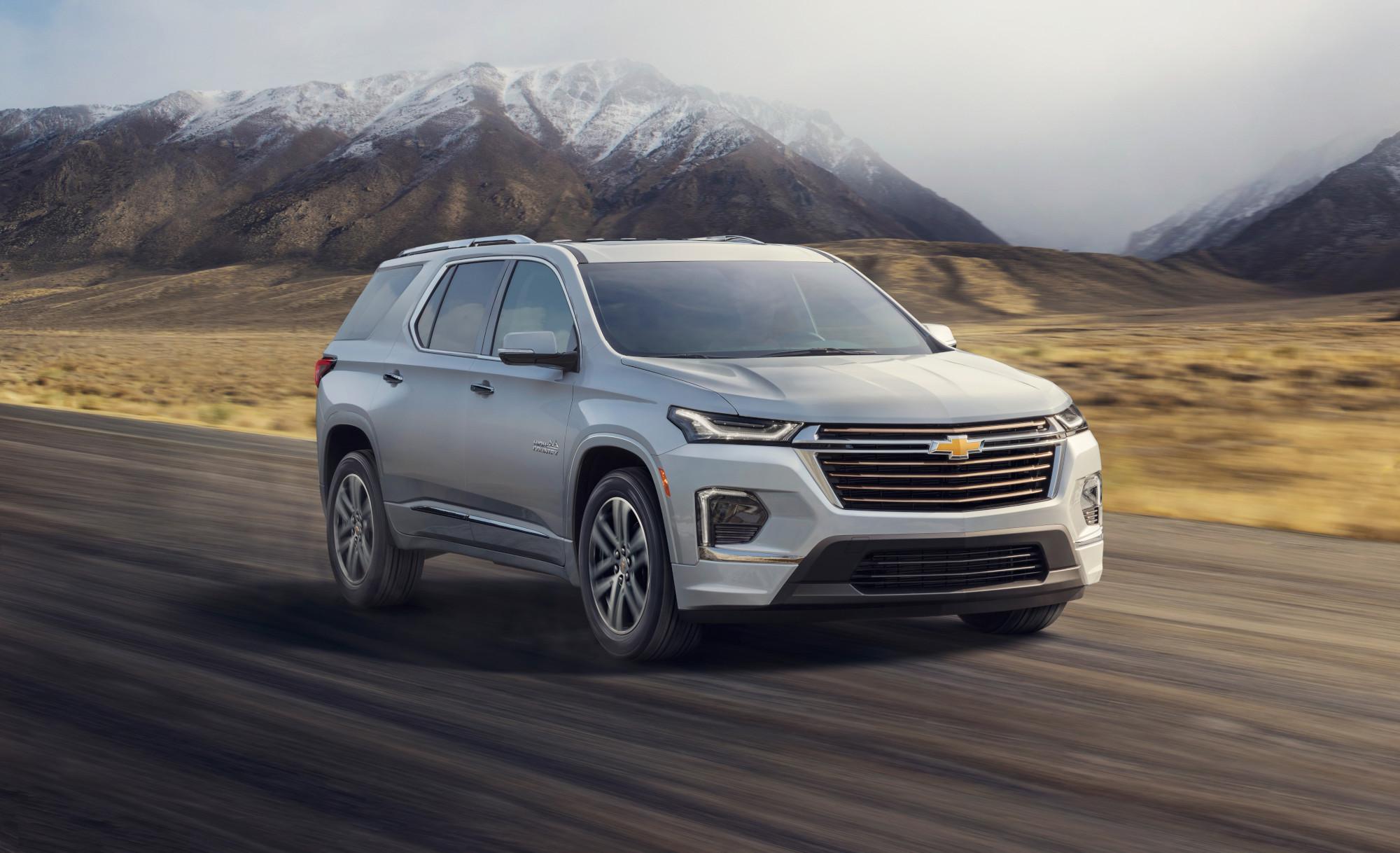 Chevrolet Traverse 2021 luce nuevo rediseño