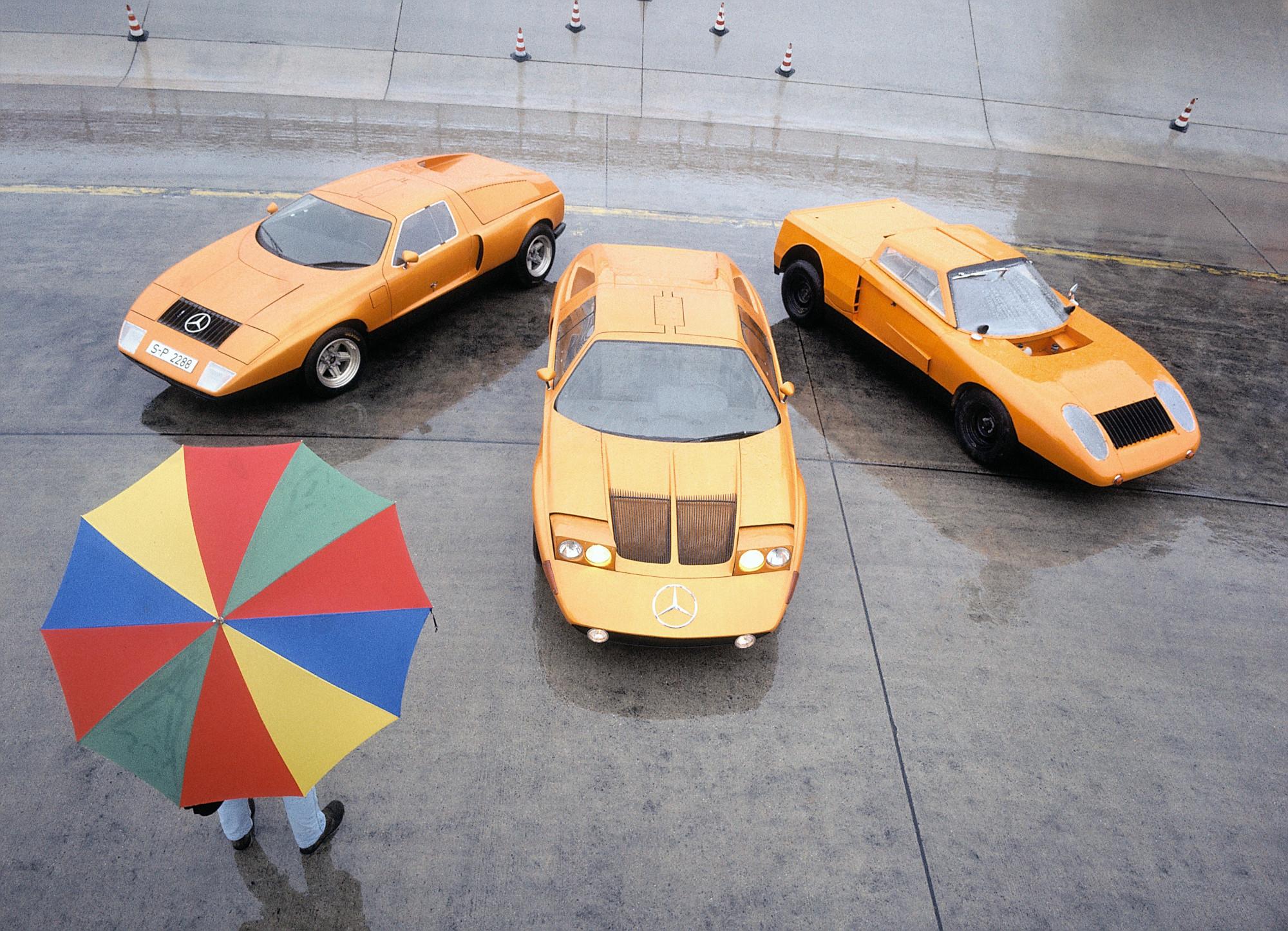 Medio siglo del experimental Mercedes-Benz C 111