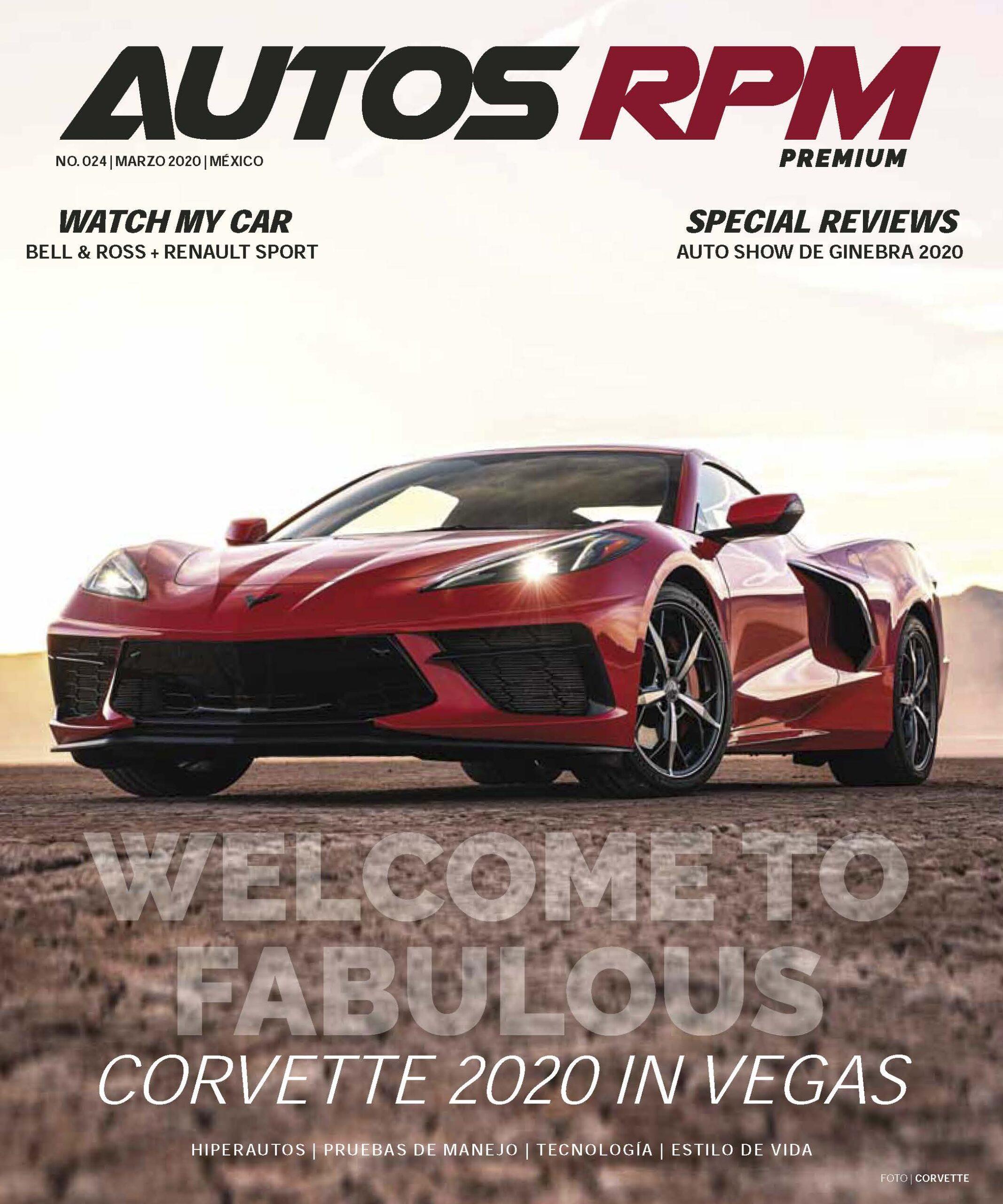Autos RPM Premium, marzo 2020