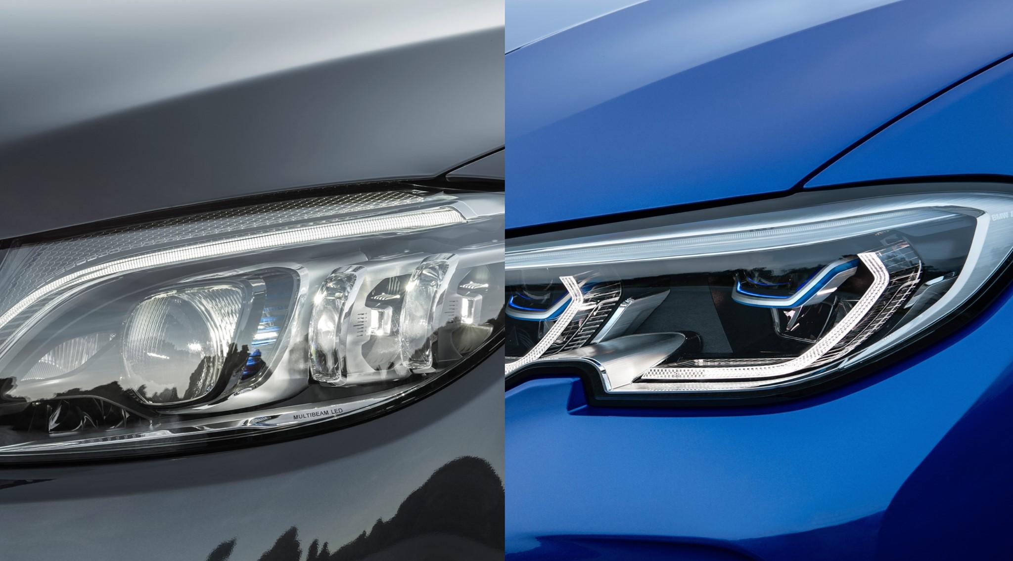 BMW Serie 3 versus Mercedes-Benz Clase C
