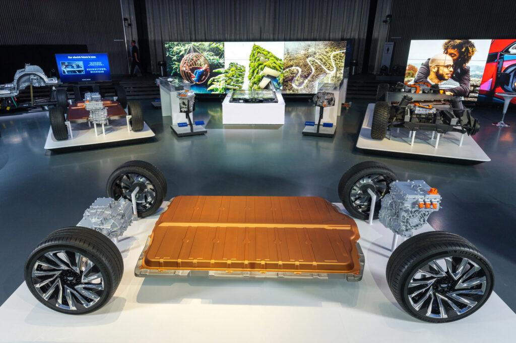 Nuevo diseño de baterías de GM