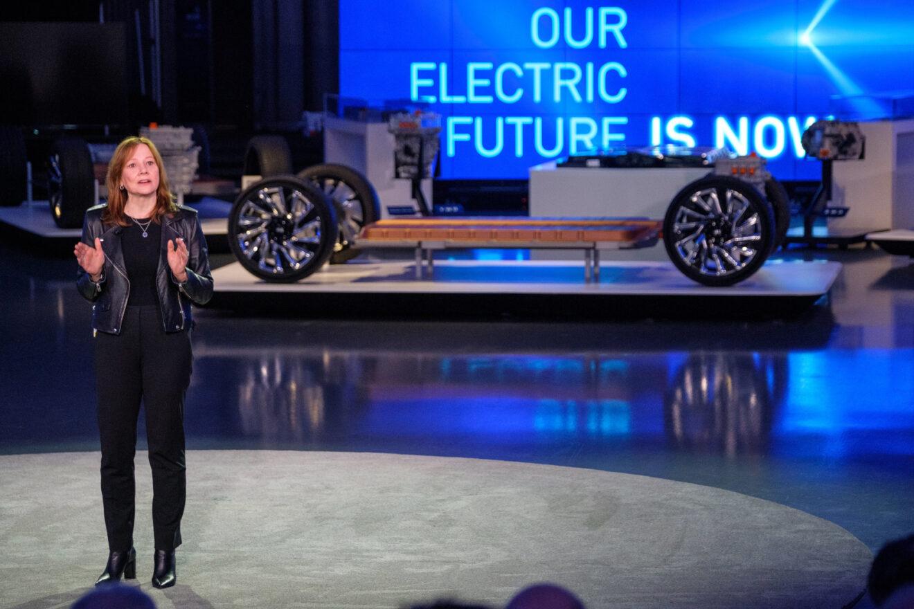 Baterías Ultium de General Motors Mary Barra