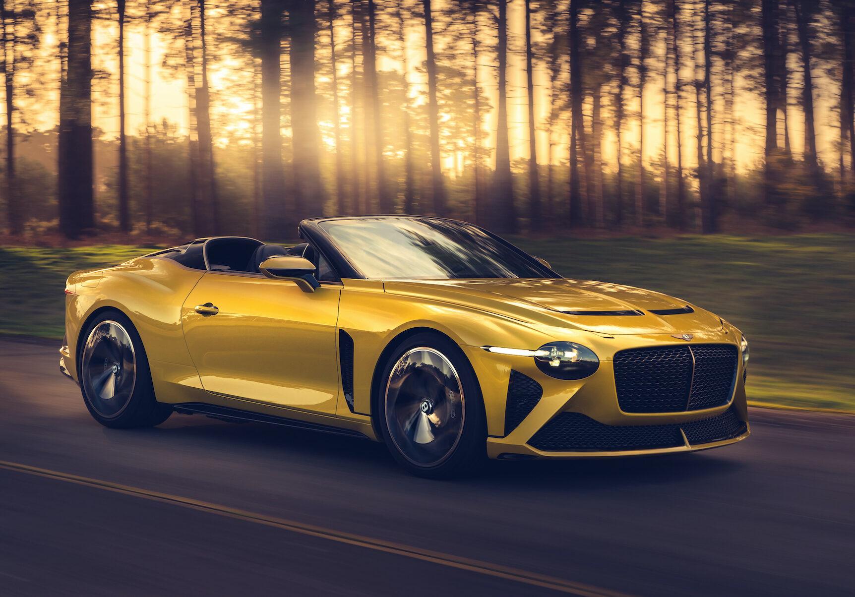 Bentley Mulliner Bacalar: raro, exigente y sostenible