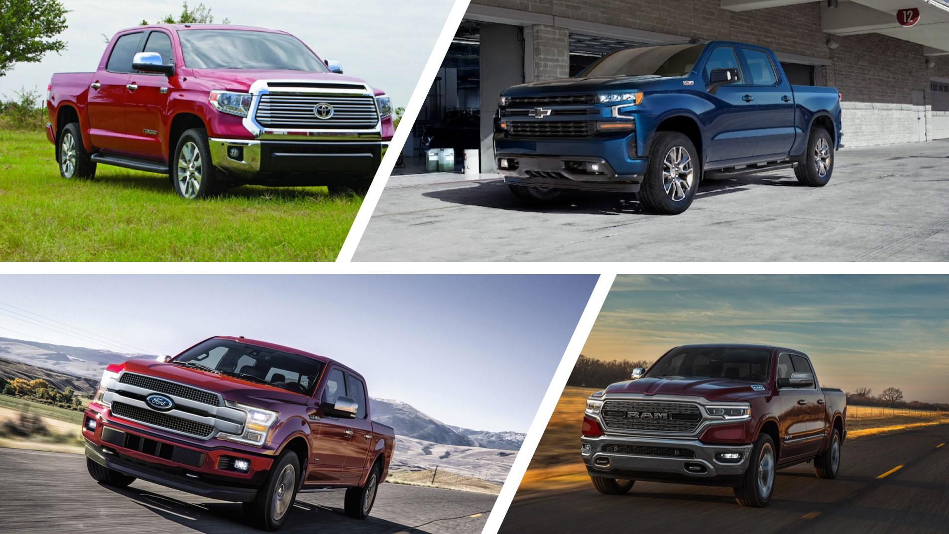 ¿De estas cuatro trocas cuál es la mejor? Pick up grandes