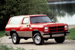 Dodge Ramcharger 1991