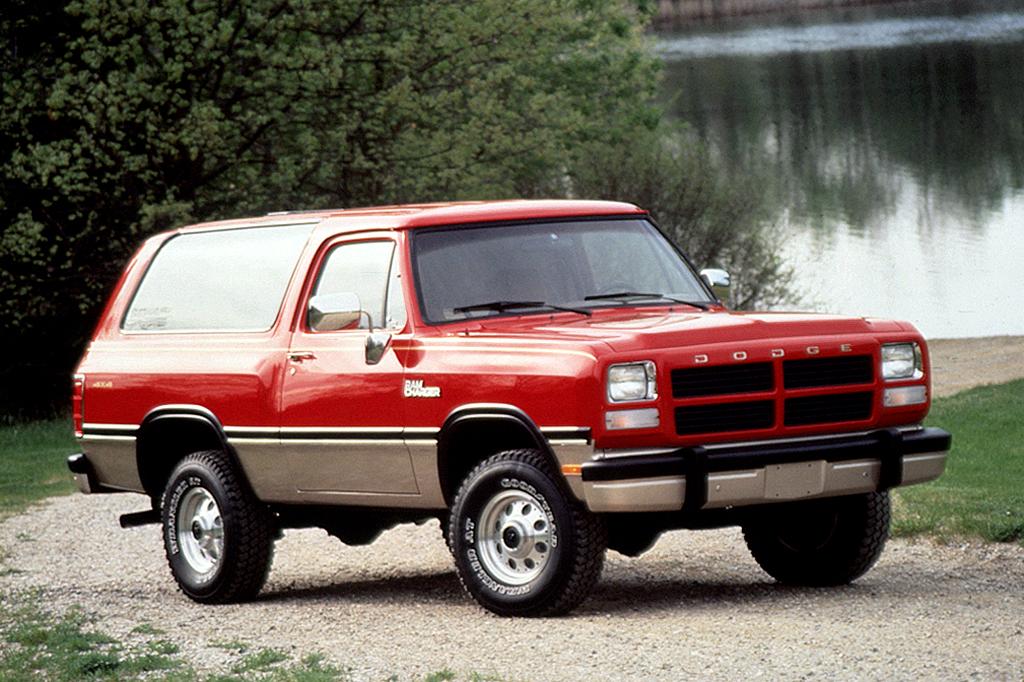 Dodge Ramcharger: una SUV de dos puertas