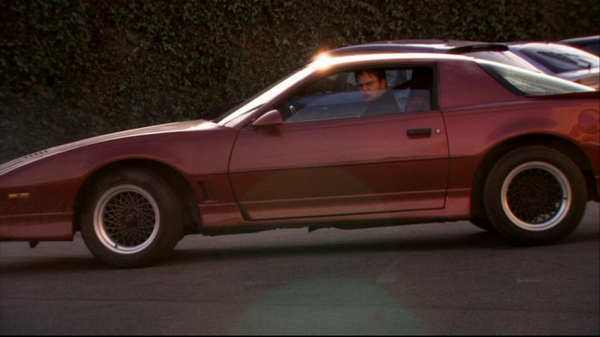 El Trans-Am 1987 de Dwight Schrute