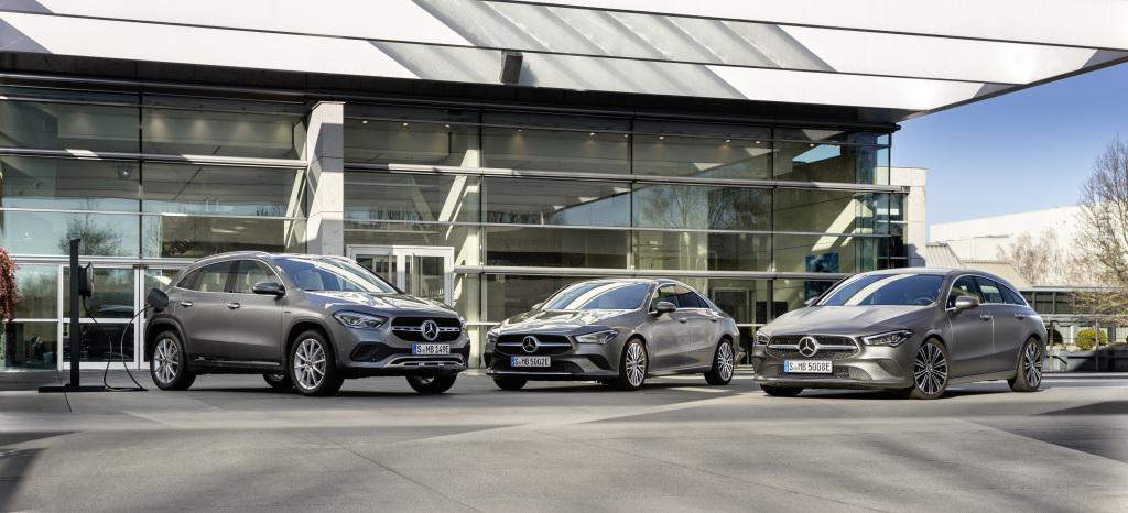 Nuevos híbridos en Mercedes Benz