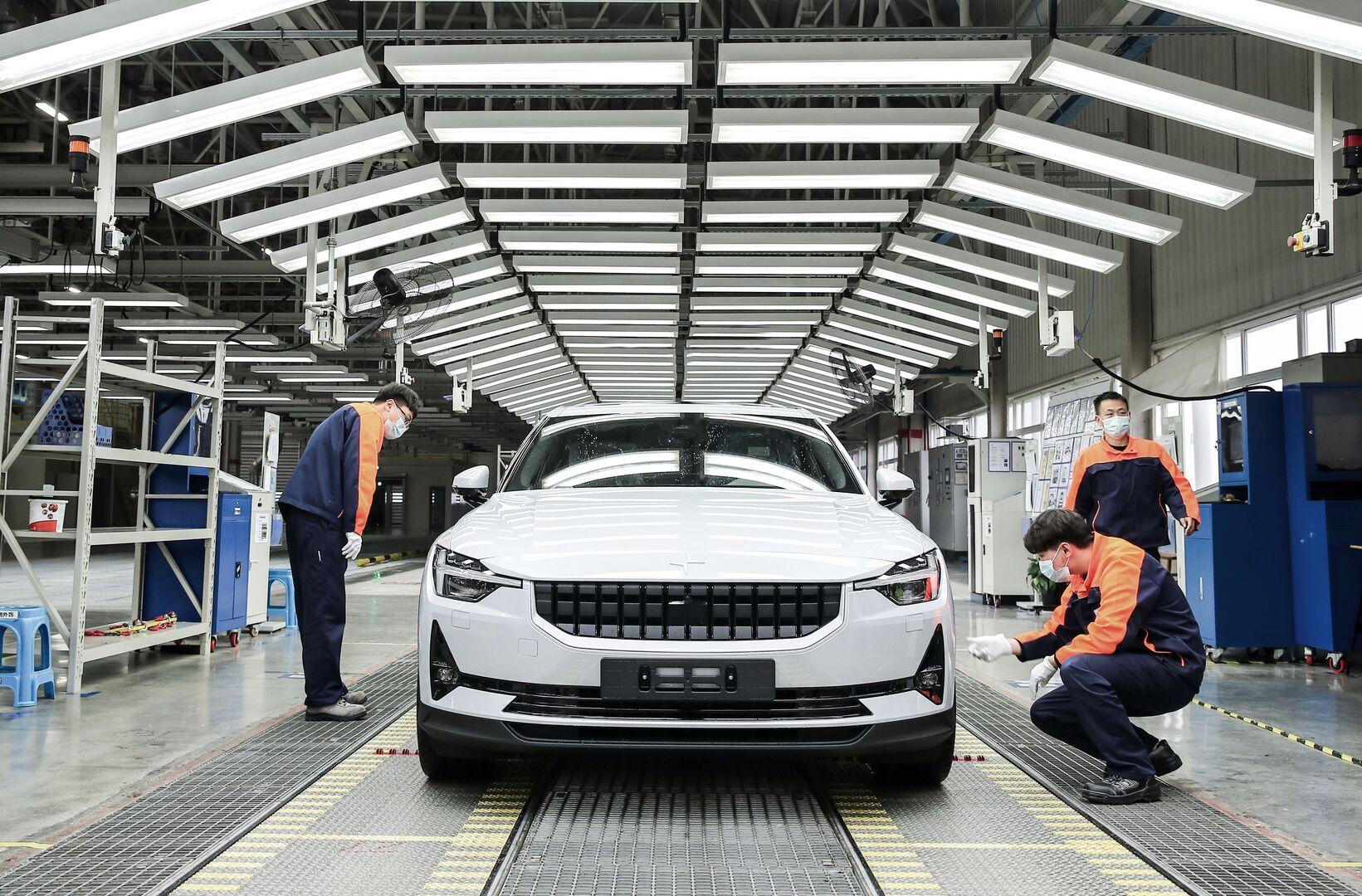 Polestar 2 inicia producción en China