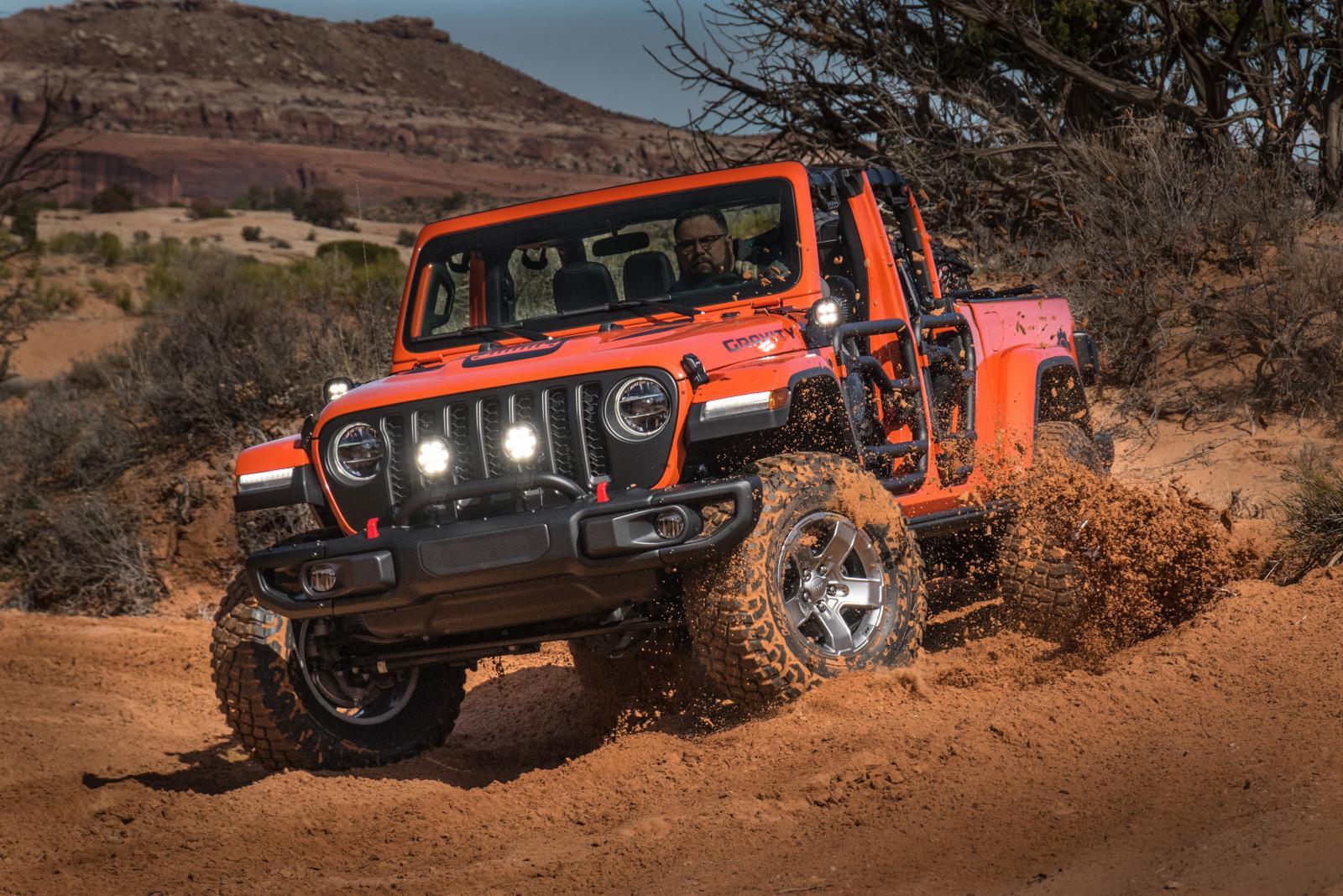 5 modelos de Jeep equipados al extremo por Mopar