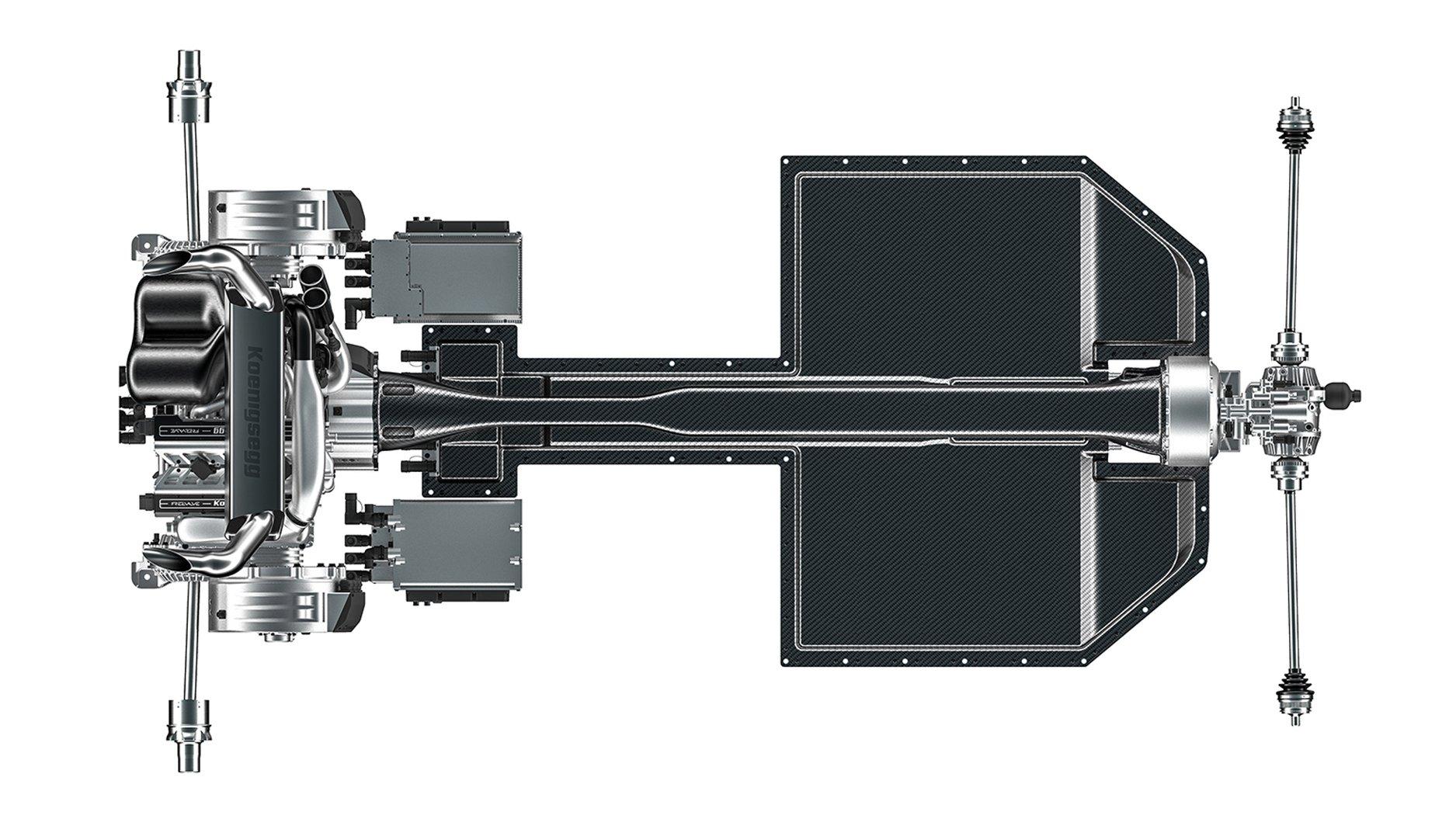 Koenigsegg Gemera GIMS 2020 - MOTORES