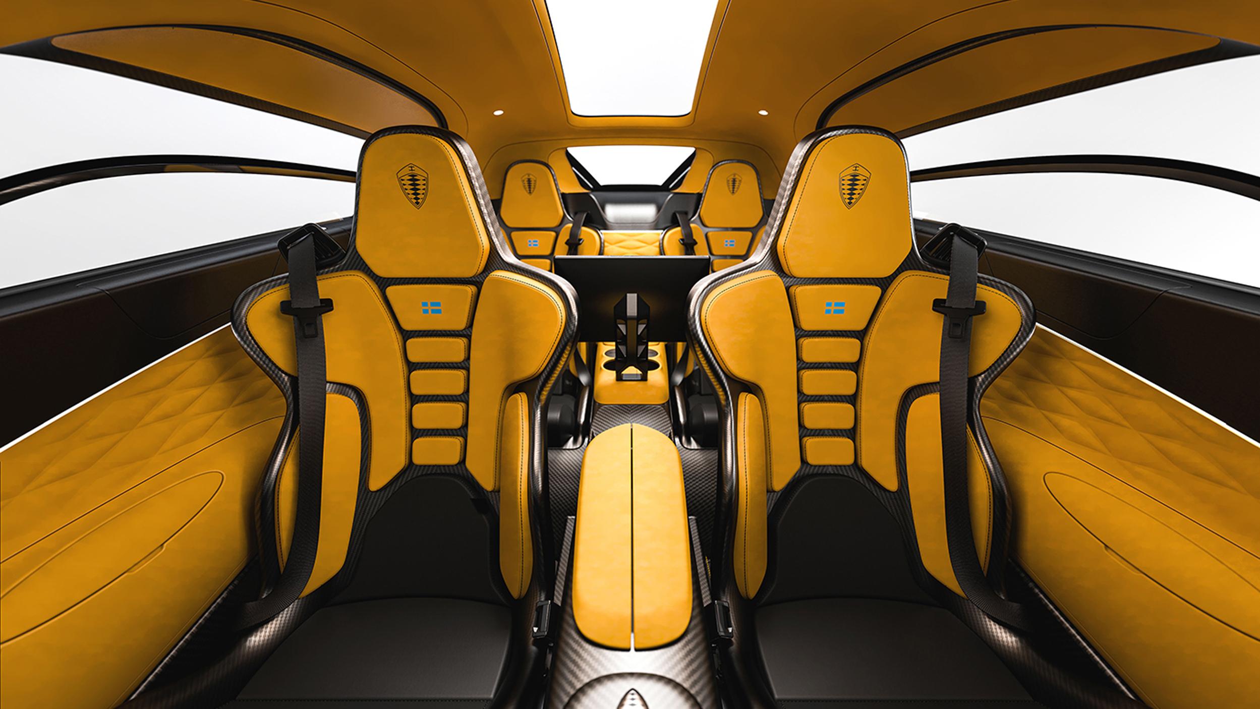 Koenigsegg Gemera-GIMS2020-interiores 4 plazas