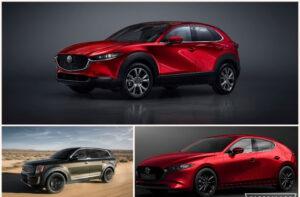 Mazda CX-30, Mazda 3 y KIA Telluride van por el World Car of the Year 2020