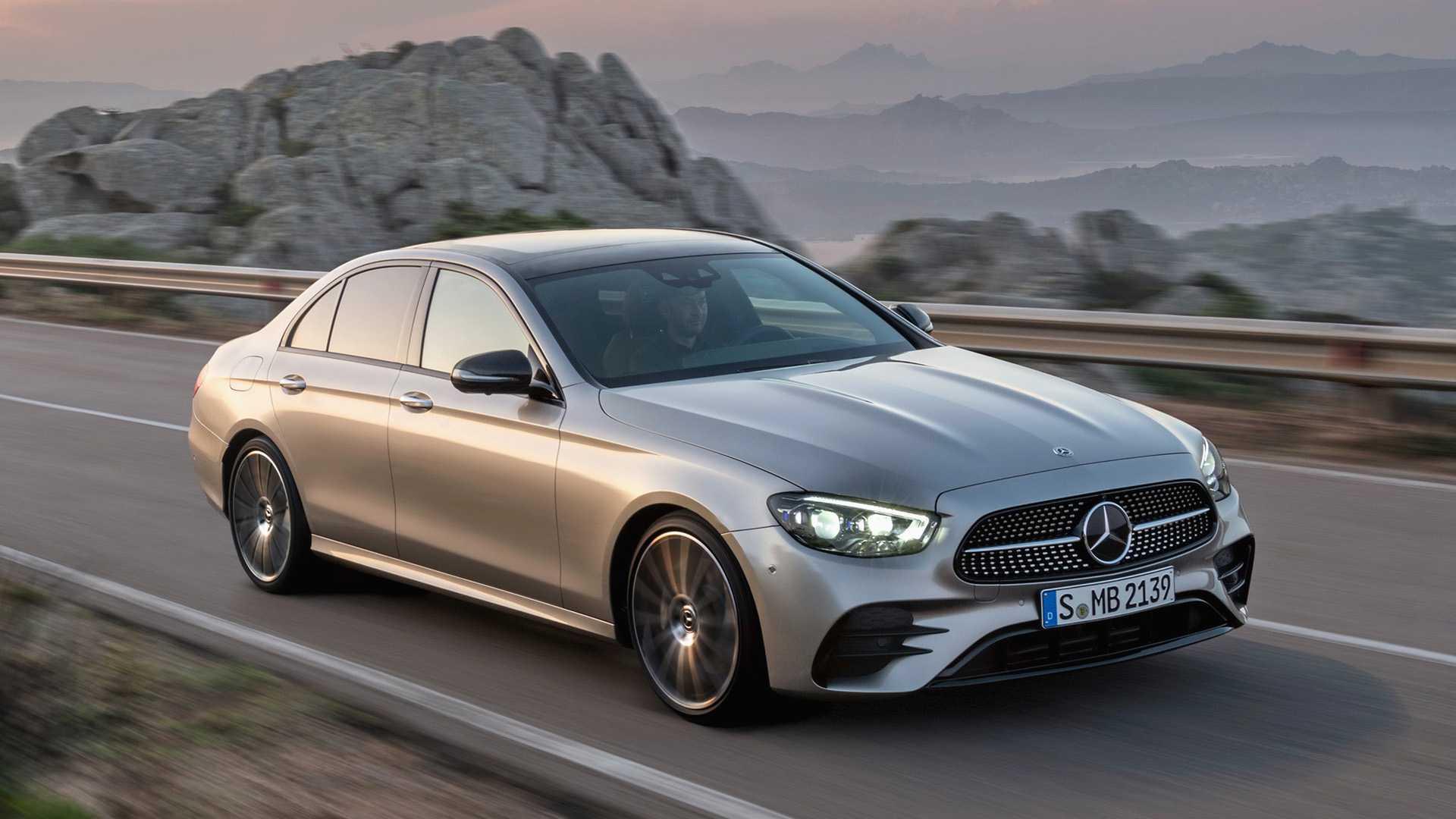 Todo esto le pusieron a la nueva Clase E de Mercedes-Benz