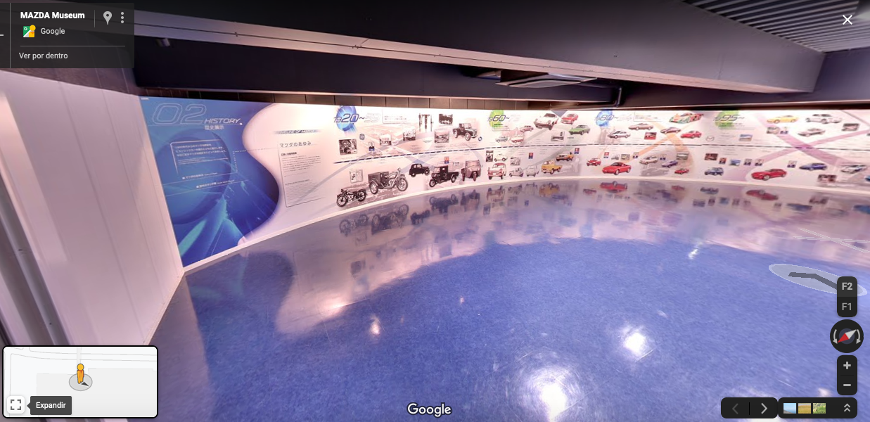 Visita el Museo de Mazda en Hiroshima sin salir de casa
