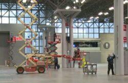NY Auto Show Sede - hospital temporal