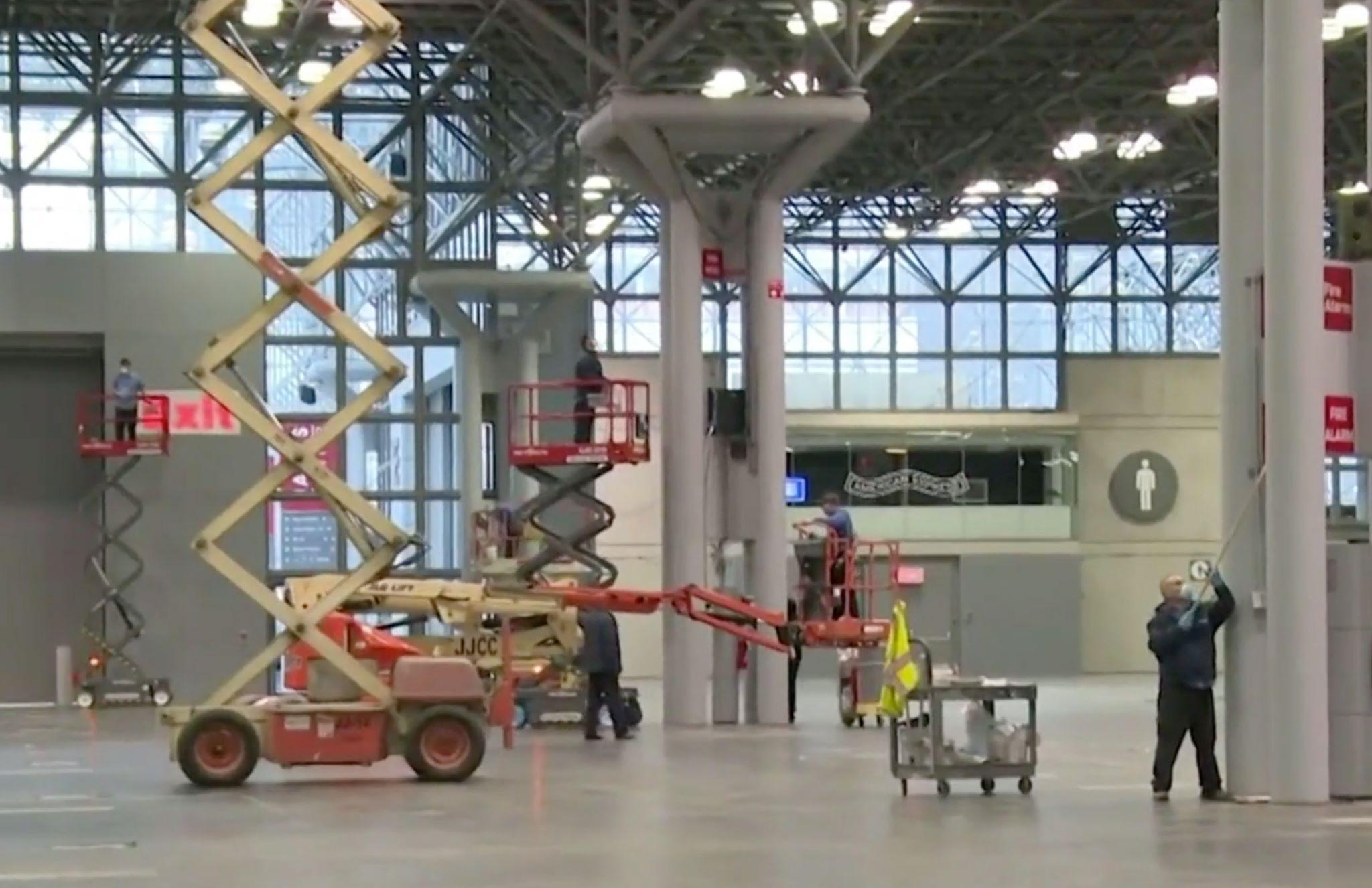 Javits Center será hospital temporal, sede del NY Auto Show