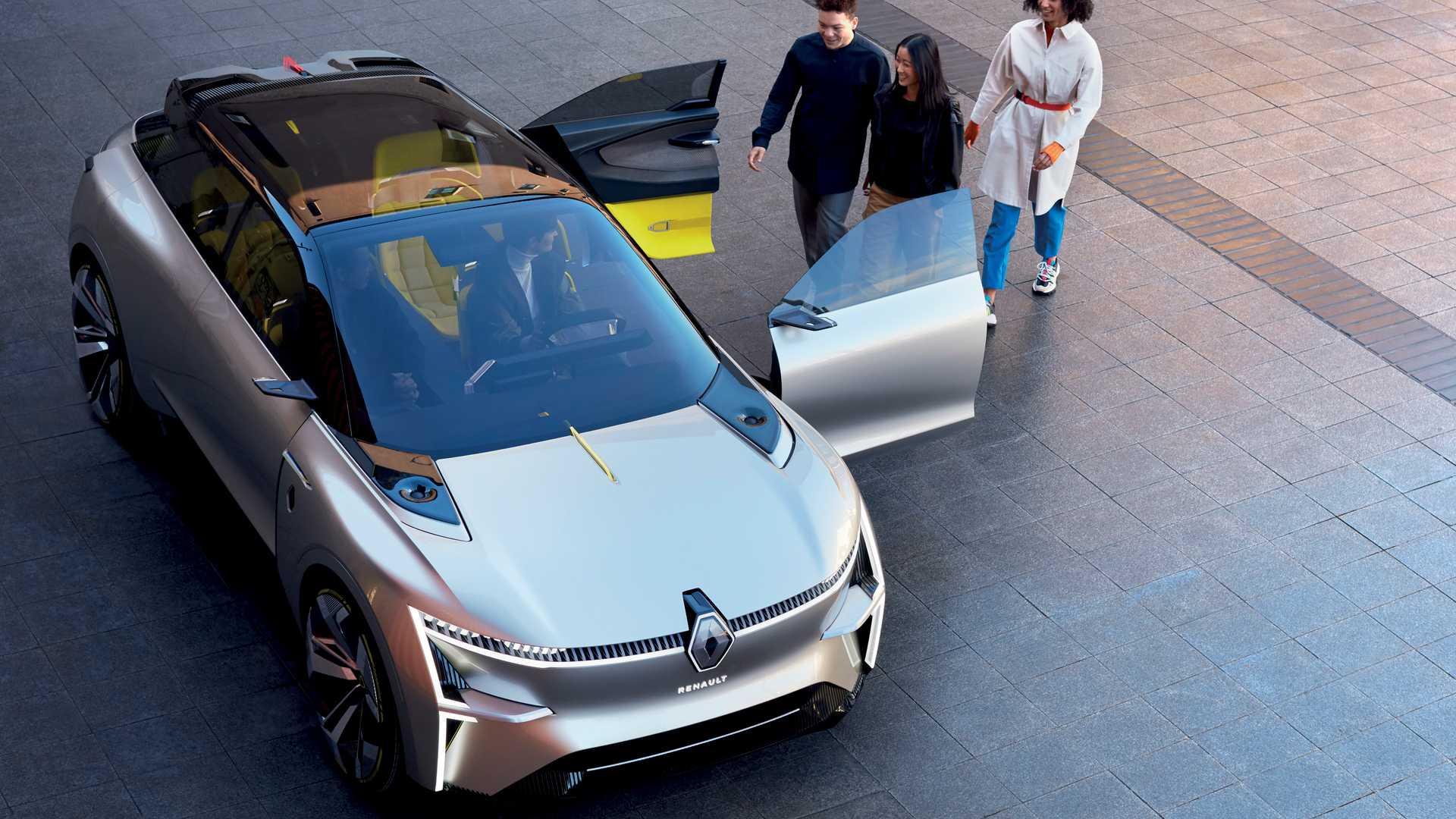 ¡Renault Morphoz Concept es un SUV, un coupé y un sedán!
