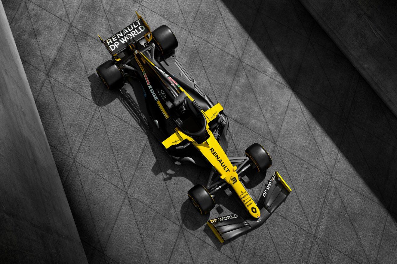 Renault devela los colores finales de su RS20