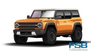 Se filtran colores de Ford Bronco 2021