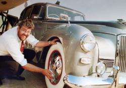 coleccionista autos clasicos Allan Marshall BNPS