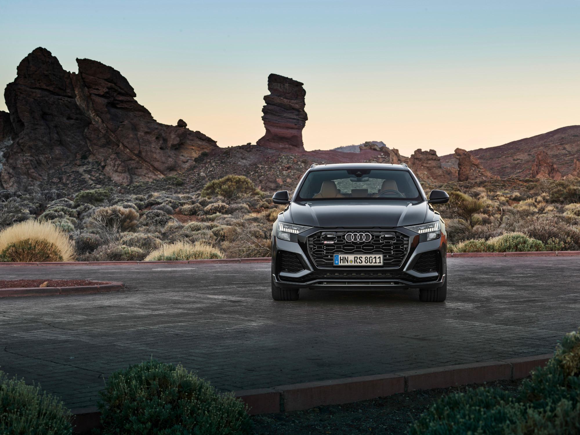Audi RS Q8, rendimiento de prestigio