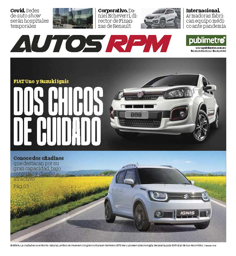 Suplemento Autos RPM 20 de abril 2020