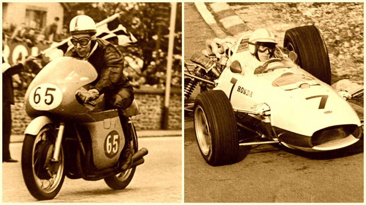 John Surtees, el único piloto campeón de Fórmula 1 y MotoGP