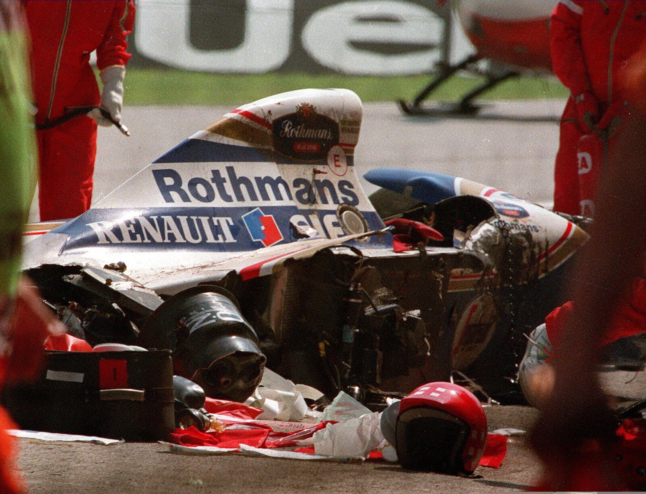 El fin de semana negro en la Fórmula 1