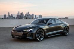 Audi e-tron GT- el color de auto que refleja lujo y exclusividad
