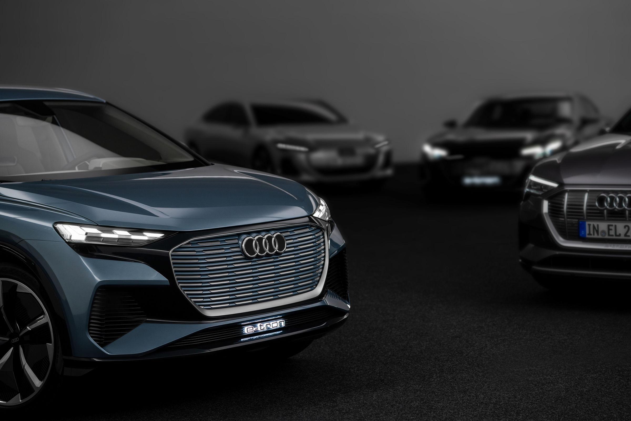 El ambicioso plan de eléctricos de Audi para 2025