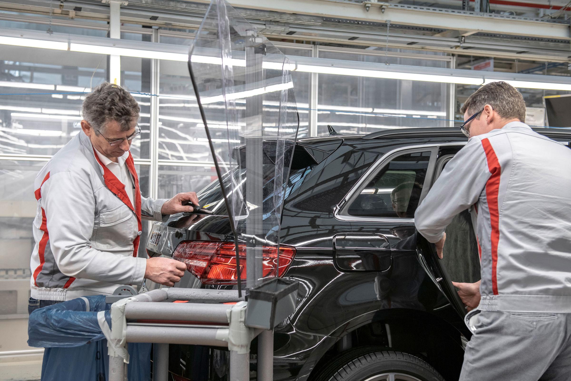 Audi reiniciará su producción gradualmente