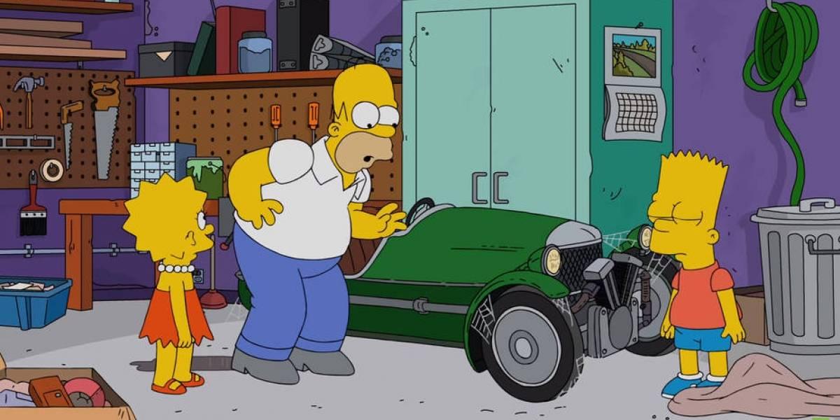 Autos de Los Simpson en su día