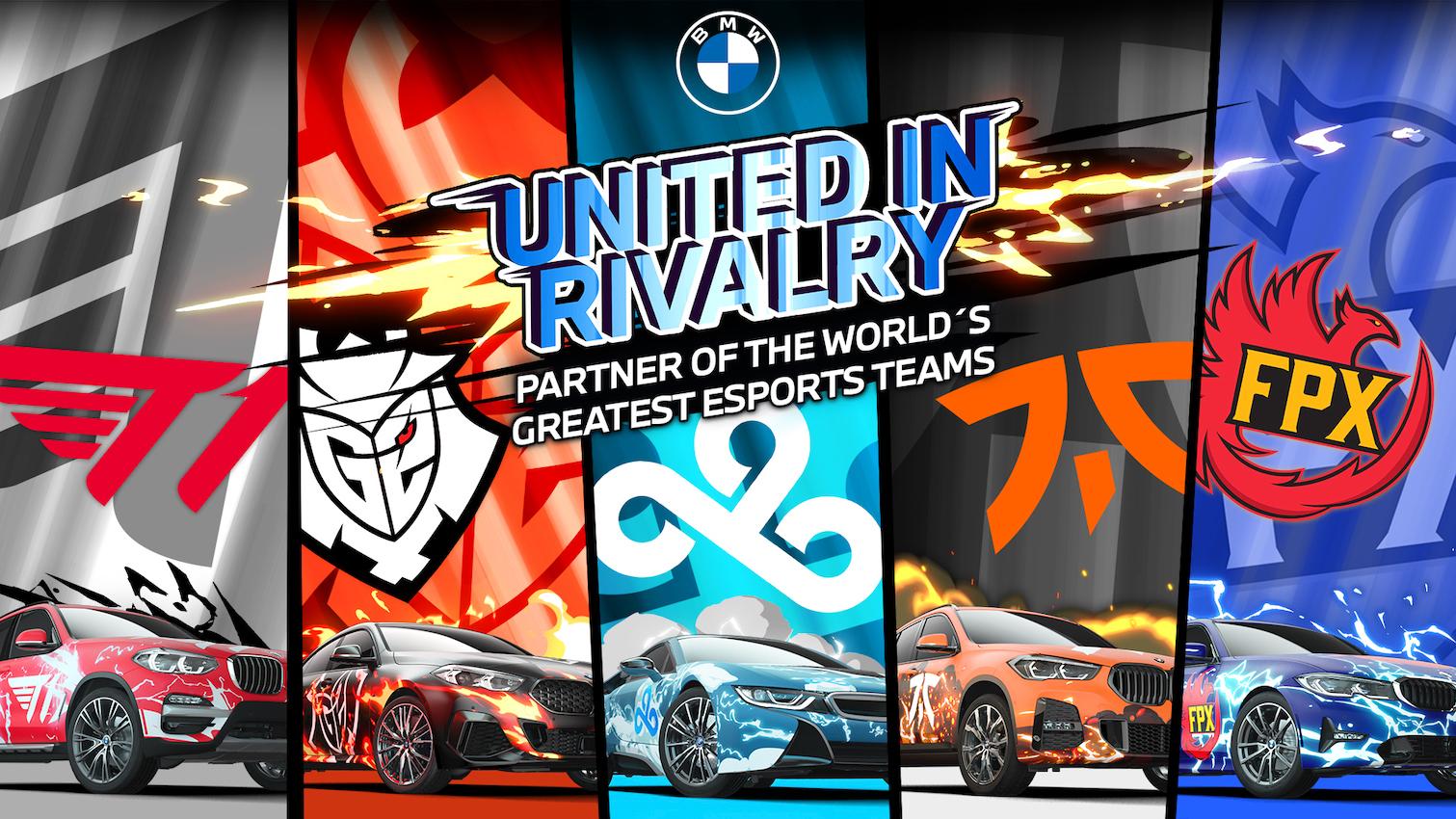 BMW formará parte de League of Legends y otros juegos de alto nivel
