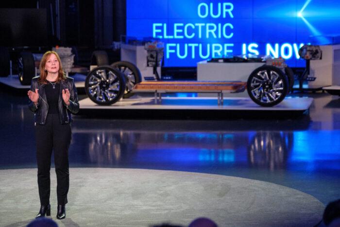 General Motors se alía para el desarrollo de vehículos eléctricos.