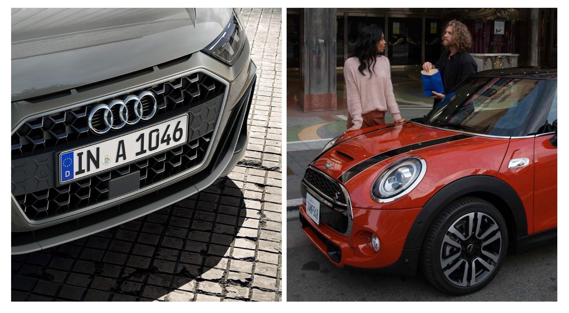 Audi A1 versus Mini Cooper, ¿cuál es el mejor?