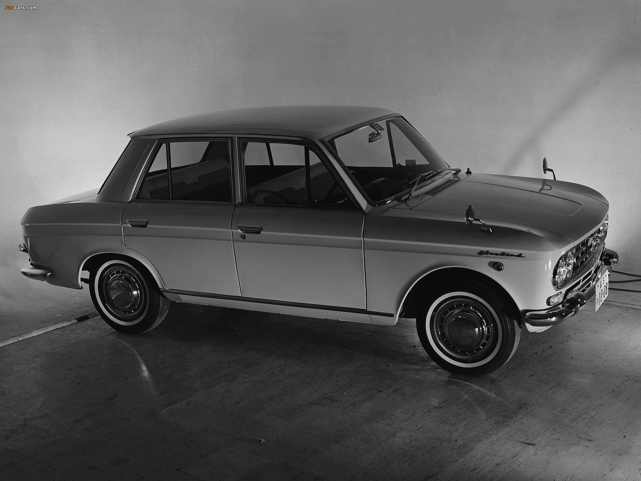 Datsun Bluebird 410: el Olímpico de Nissan