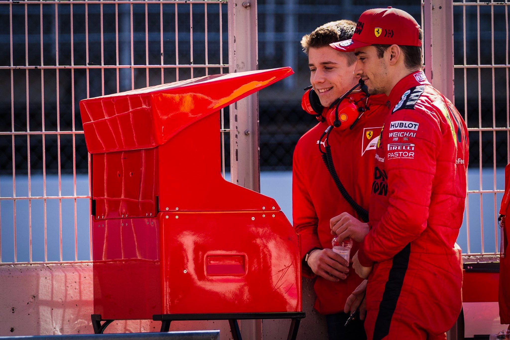 Charles Leclerc dominó el Gran Premio virtual
