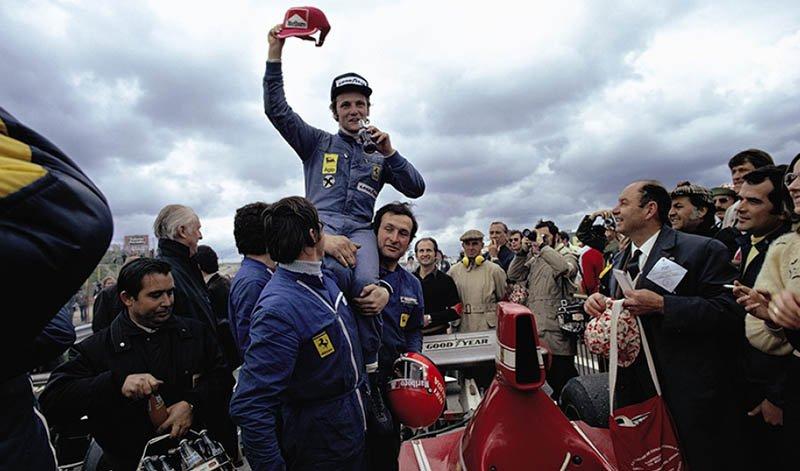 Niki Lauda y su primera victoria en la F1