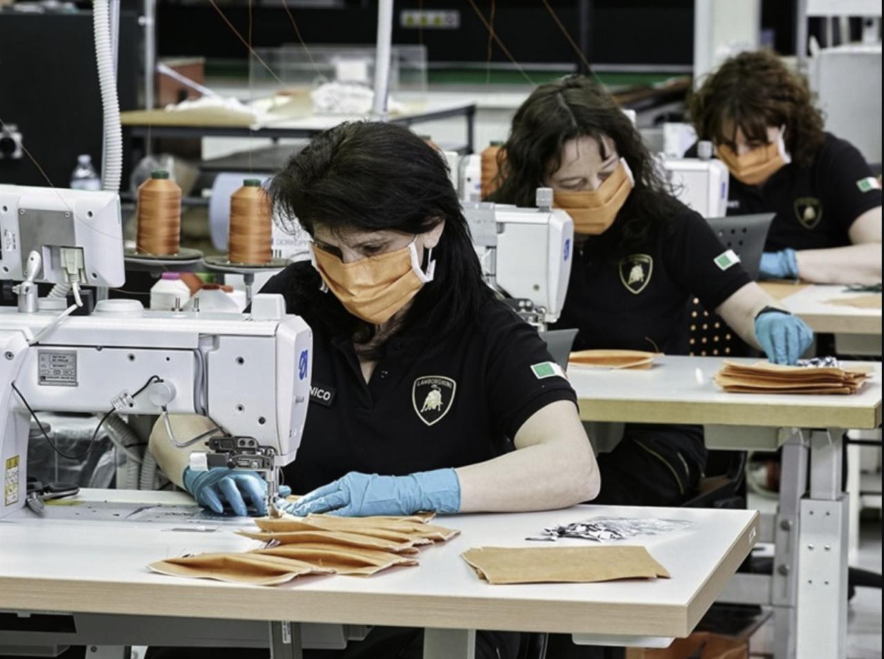 Lamborghini comienza producción de máscaras por Covid-19-3