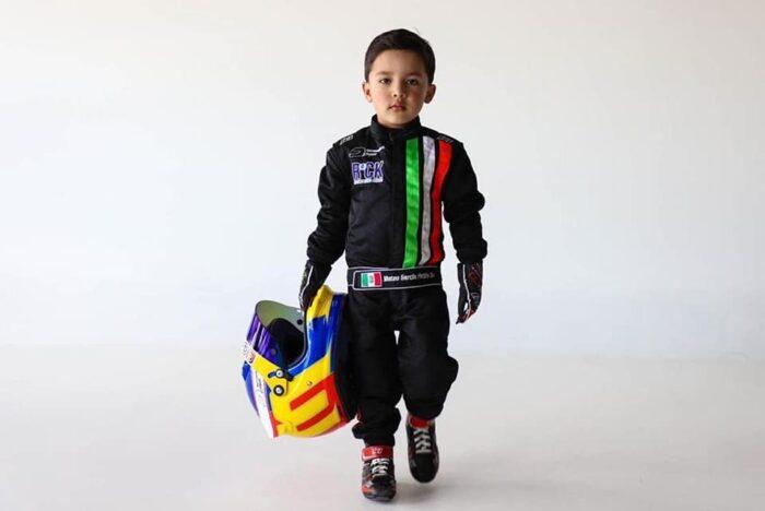 Mateo Garcia - Mateo Driver - futuro del automovilismo mexicano-Autos Memo Lira-frente