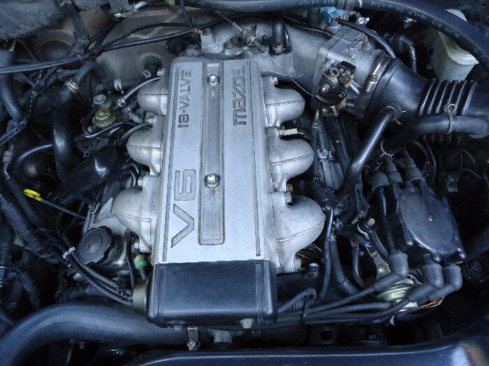 Mazda_MPV_V6_Motor-truco-la-banda-del motor-rechinar