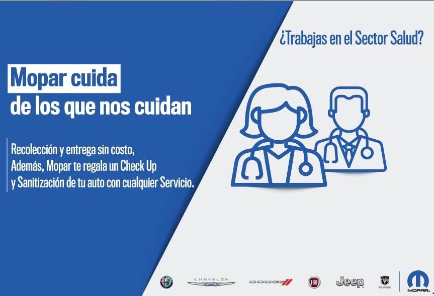 El sector salud es apoyado por MOPAR México